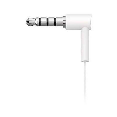 auricolare bianco con microfono