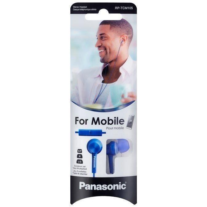 auricolare in ear mic blue             cf010