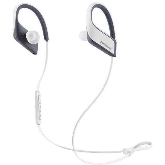 auricolare sport con microfo white