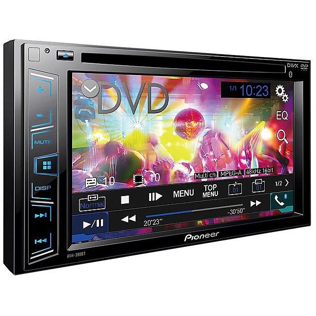 AVH-280BT sintolettore cd/dvd con schermo bt