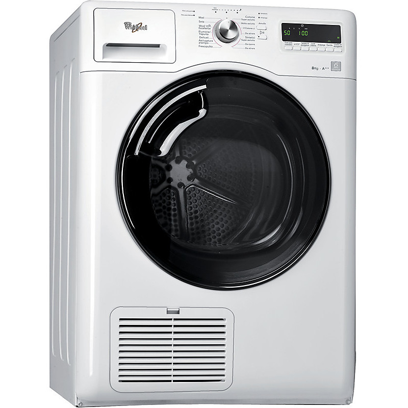 Aza Hp8160w Whirlpool Asciugatrice Classe A 8 Kg A Condensa Asciugatrici Asciugabiancheria Clickforshop