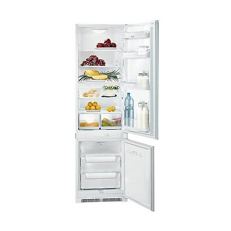 bcb 332 aai s ha hotpoint ariston frigo combinato frigo. Black Bedroom Furniture Sets. Home Design Ideas