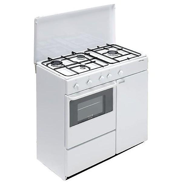 bi-960ya/l bompani cucina 4 fuochi bianca valvolata forno a gas