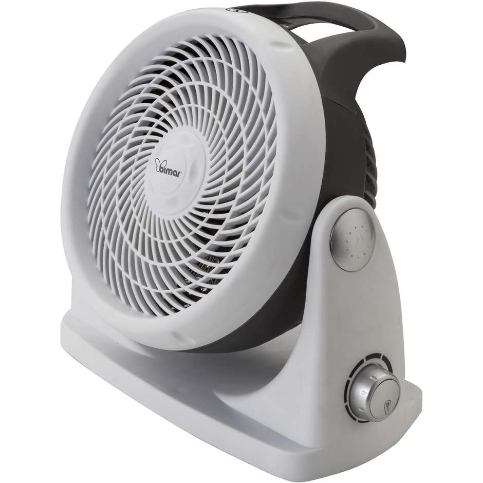Bimar HF198 termoventilatore ciclonico compatto colore grigio