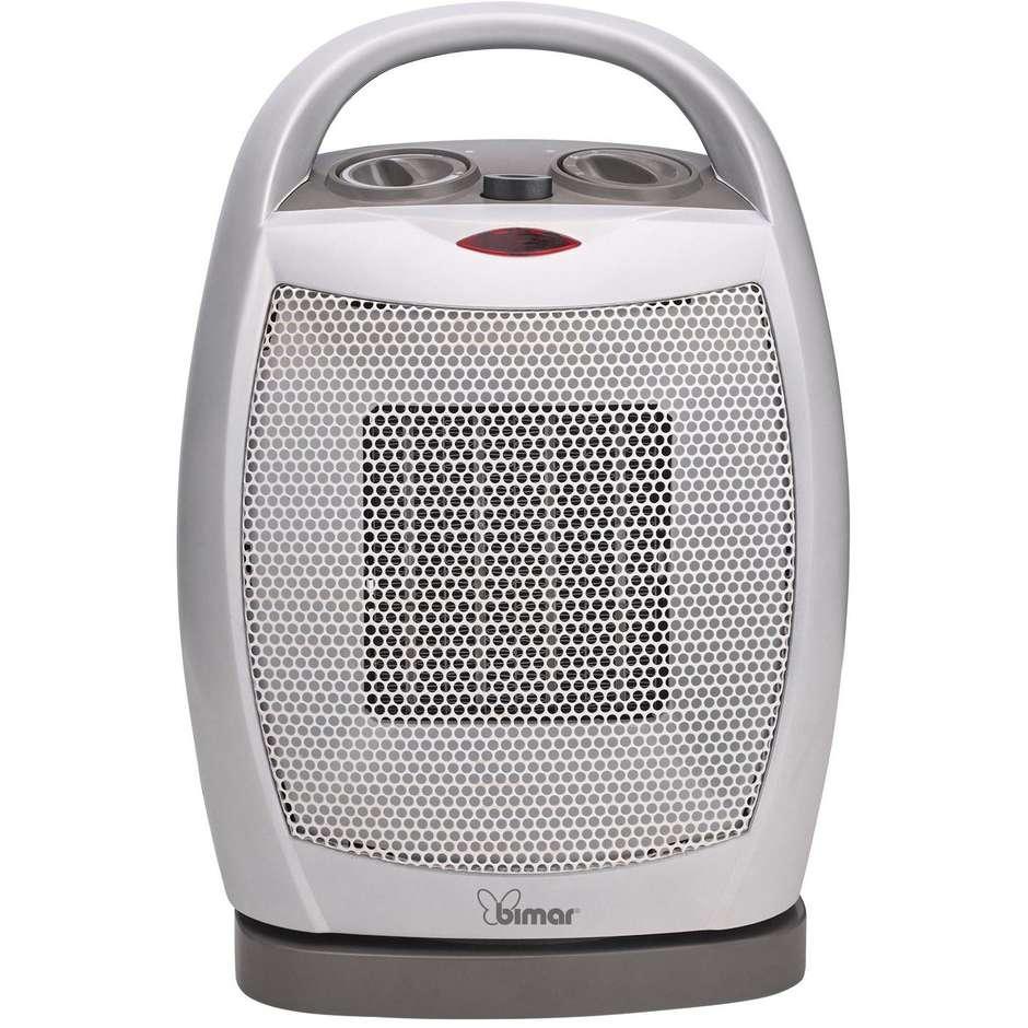 Bimar HP104 termoventilatore oscillante con maniglia per trasporto colore grigio