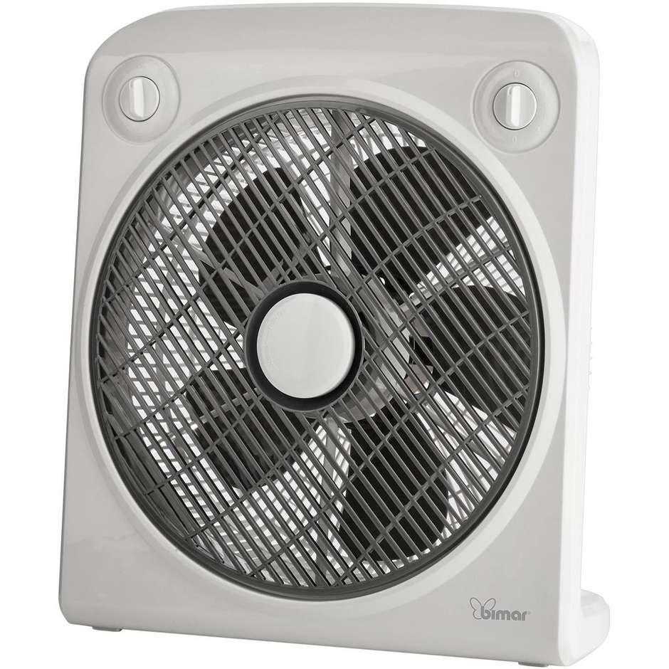 Bimar VBOX38T ventilatore box con Timer 120 min 50W 3 velocità Bianco
