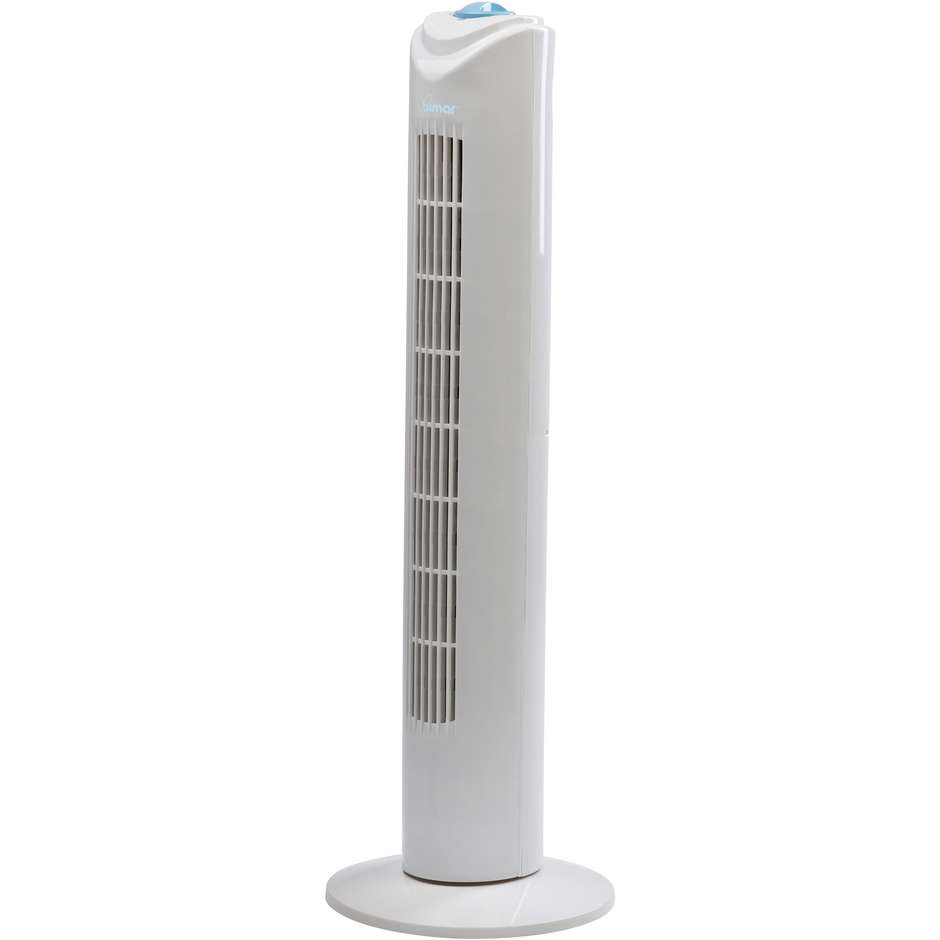 Bimar VC75 ventilatore a torre con timer 120 min 45W 3 velocità colore Bianco