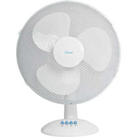 Bimar VT40 ventilatore da tavolo 40cm 3 velocità 45W 3 pale colore Bianco