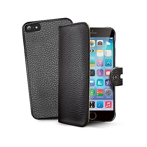 bk pu wallet case for iphone 6