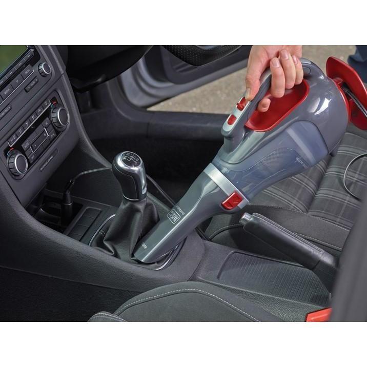 Black&Decker ADV1200-XJ Apirabriciole Capacità 610 ml colore Grigio, Rosso