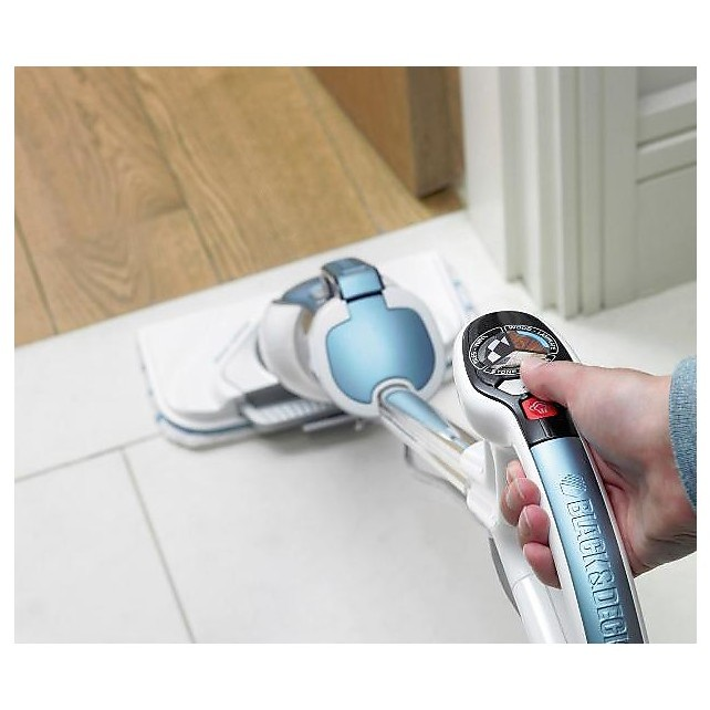 Black&Decker FSM1630 Steam-mop Deluxe lavapavimenti a vapore potenza 1600 Watt