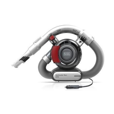 Black&Decker PD1200AV-XJ Dusbuter Flexi Aspirabriciole Capacità 560 ml colore Grigio, Rosso