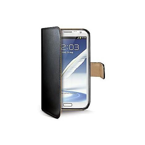 black pu wallet case galaxy note 3