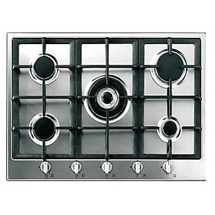 Rex/Electrolux RGG6043NOT piano cottura a gas 60 cm 4 fuochi ...