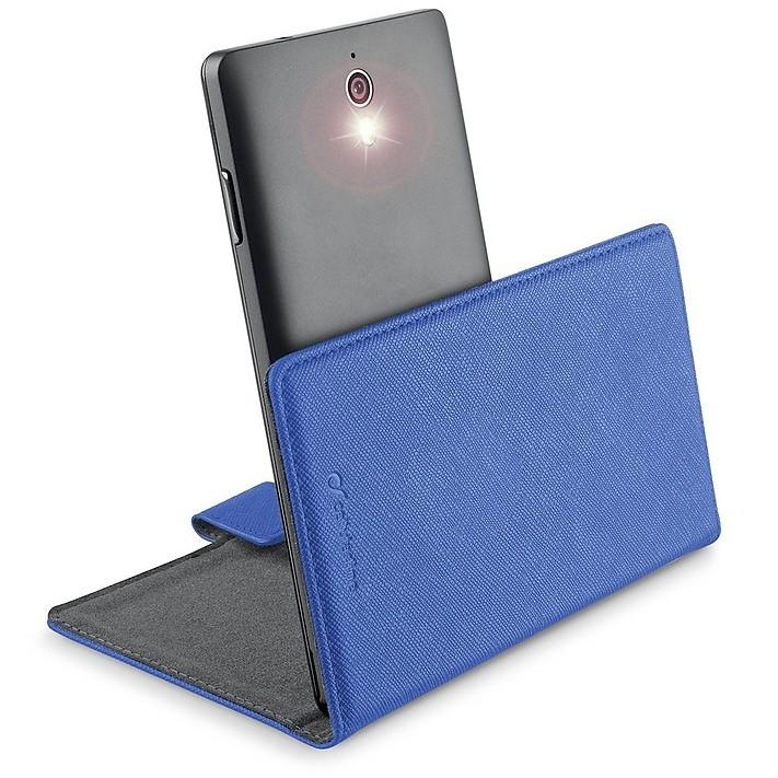bookuni2lb custodia libro xxl blu cellular line