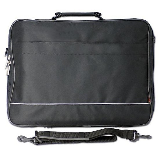borsa notebook black 17p