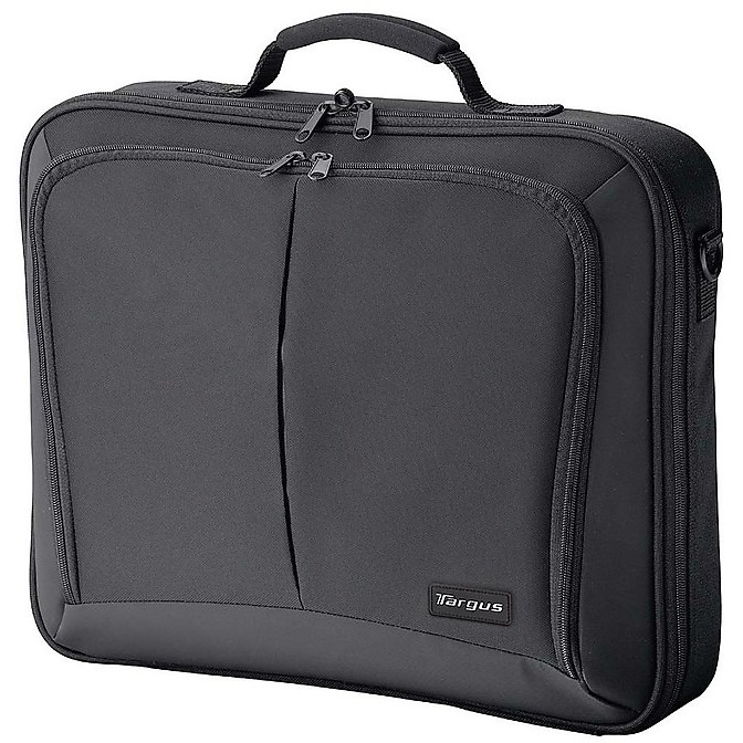 borsa porta notebook in nylon nera