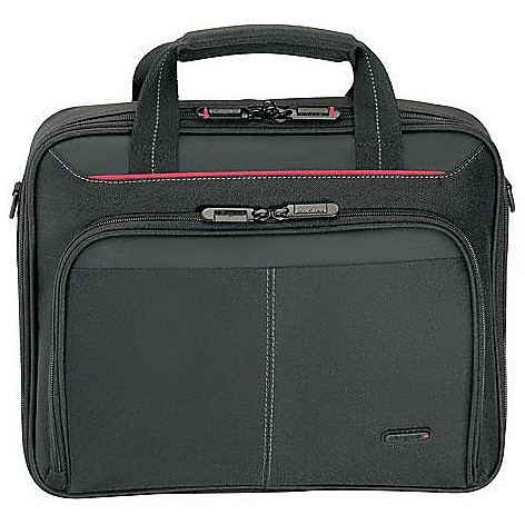 borsa porta notebook in nylon nera