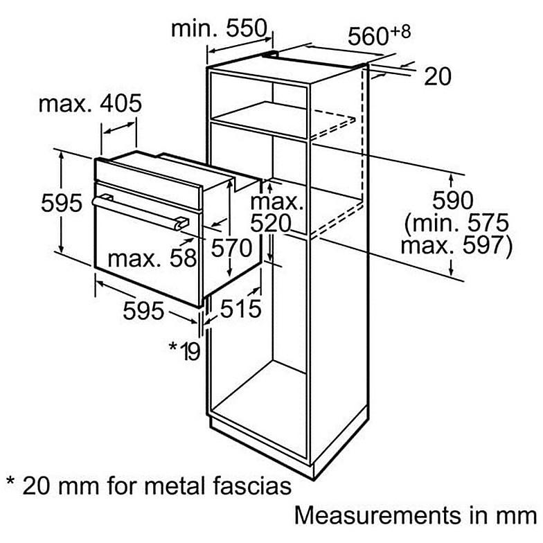 bosch forno termovent hba64b251f