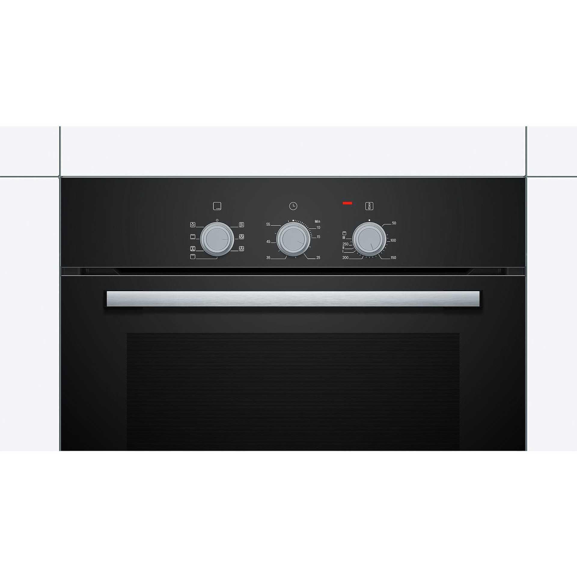 Bosch hbf011ba0j serie 2 forno elettrico da incasso classe a capacit 66 l colore nero forni - Forno da incasso bosch ...