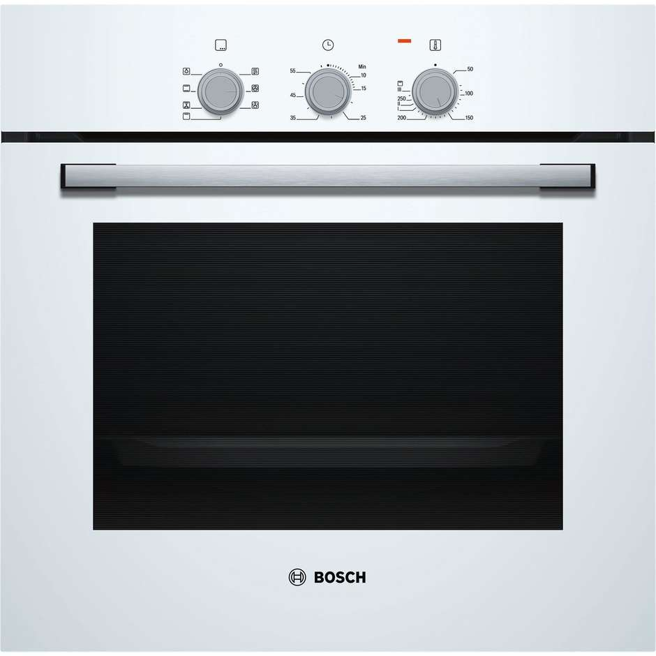 Bosch hbf011bv0j forno elettrico multifunzione da incasso 66 litri classe a colore bianco - Forno da incasso bosch ...