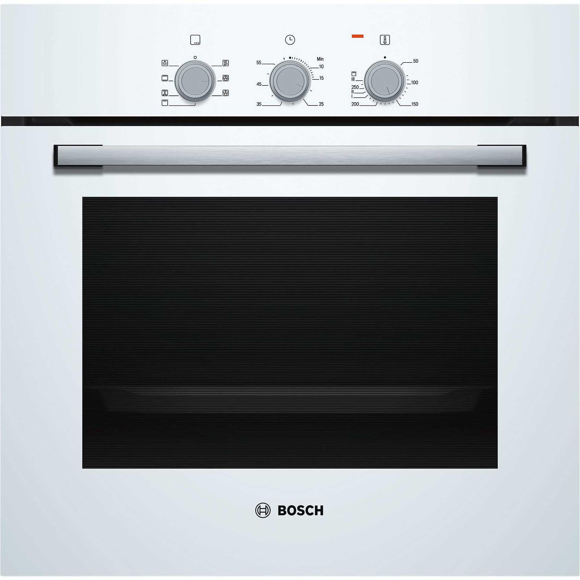 Bosch hbf011bv0j forno elettrico multifunzione da incasso 66 litri classe a colore bianco - Forno da incasso elettrico ...