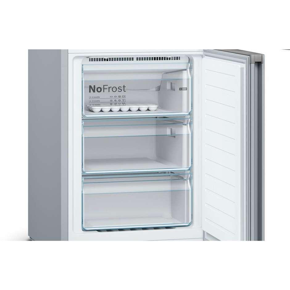 Bosch KGN36VL4A frigorifero combinato 324 litri classe A+++ No Frost colore inox