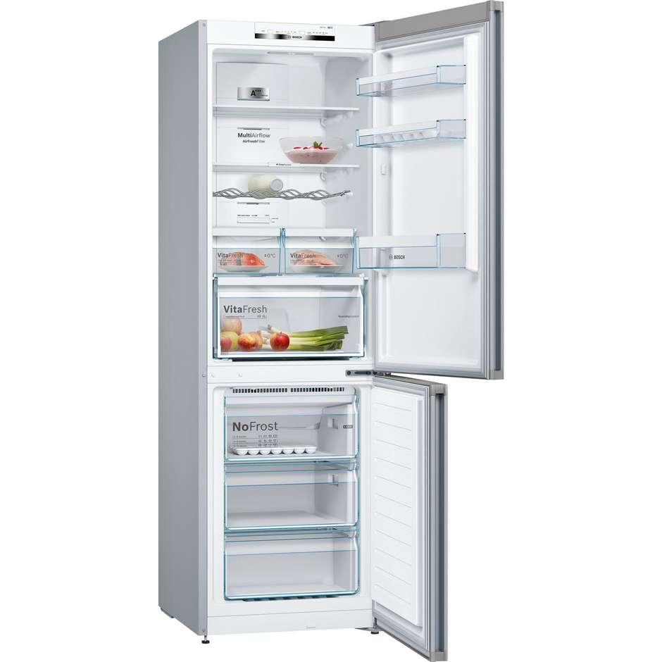 Bosch kgn36vl4a frigorifero combinato 324 litri classe a for Frigorifero a no frost