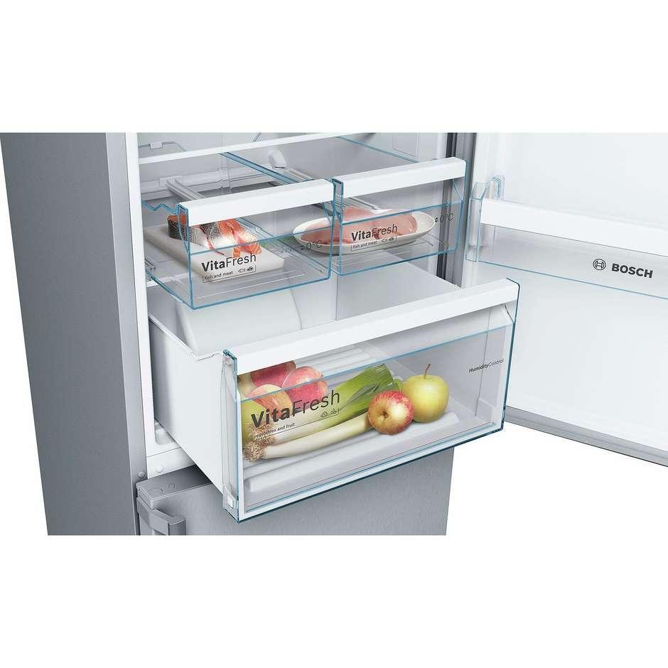Bosch KGN36XL3P frigorifero combinato 324 litri classe A++ No Frost colore inox