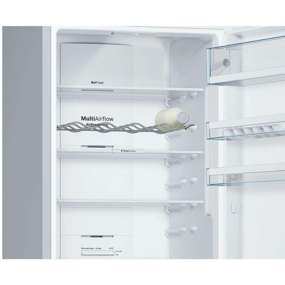 Bosch KGN39KL35 frigorifero combinato 366 litri classe A++ Total No Frost colore inox