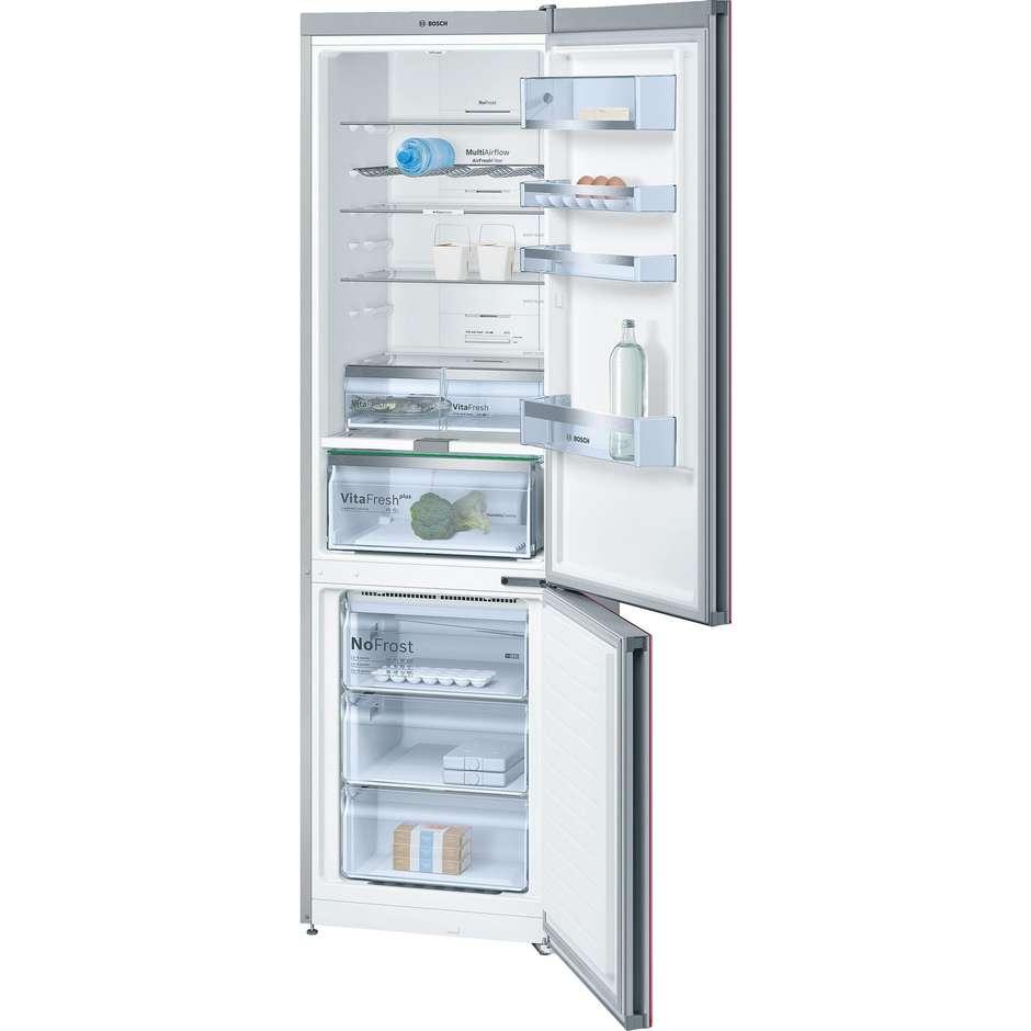 Bosch KGN39LR35 frigorifero combinato 366 litri classe A++ Total No Frost colore rosso