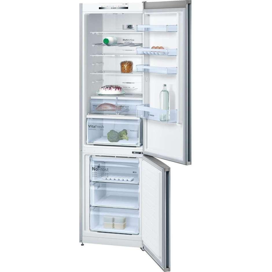 Bosch kgn39vl45 serie 4 frigorifero combinato 366 litri for Frigorifero a no frost