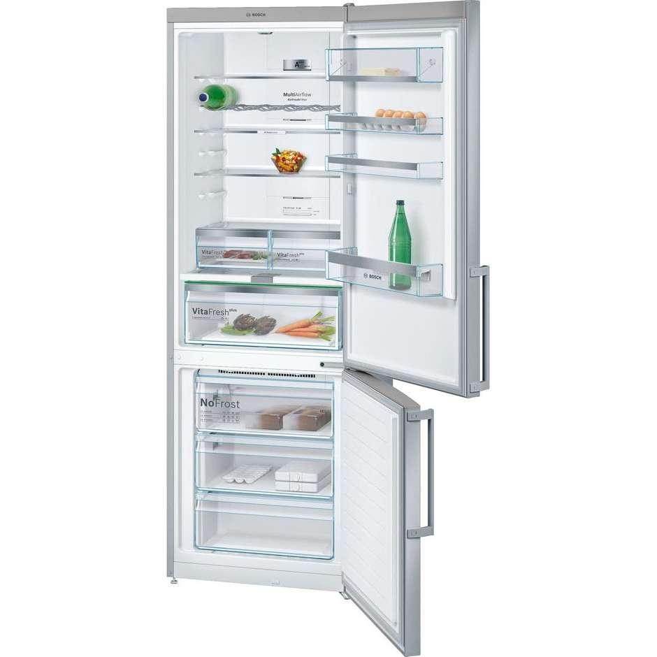 Bosch KGN49AI40 frigorifero combinato 435 litri classe A+++ No Frost colore inox