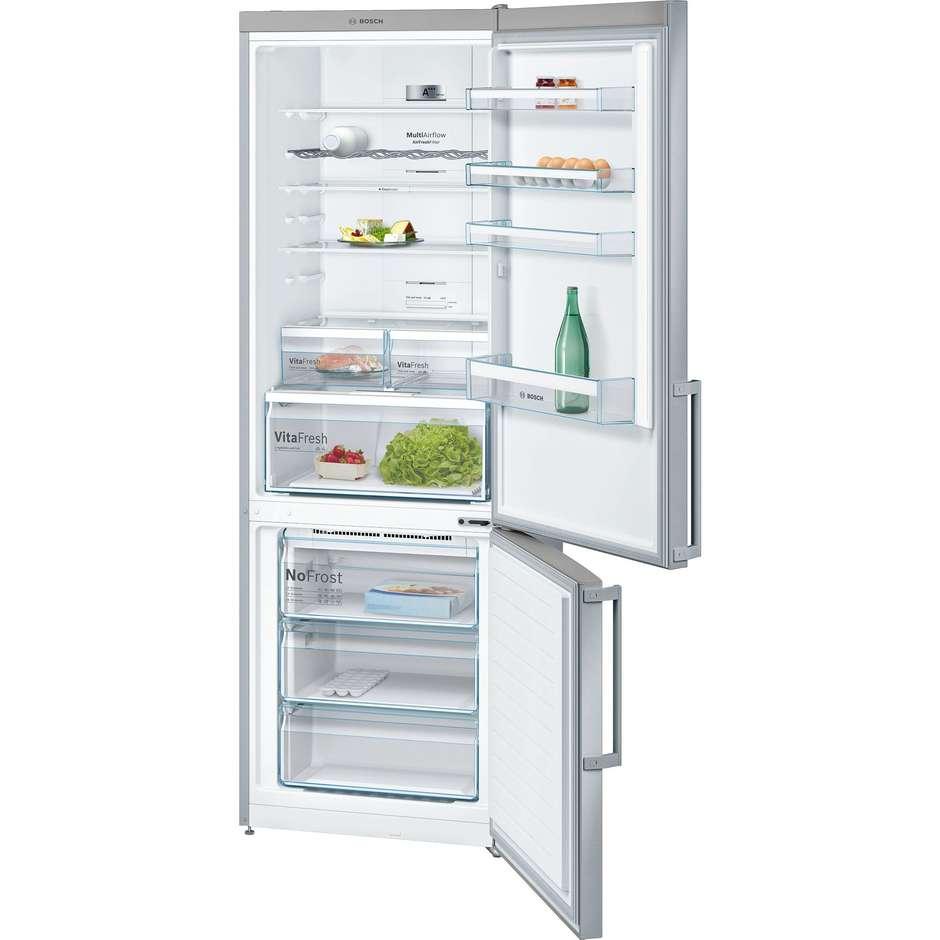 Bosch KGN49XI40 frigorifero combinato 435 litri classe A+++ No Frost colore inox