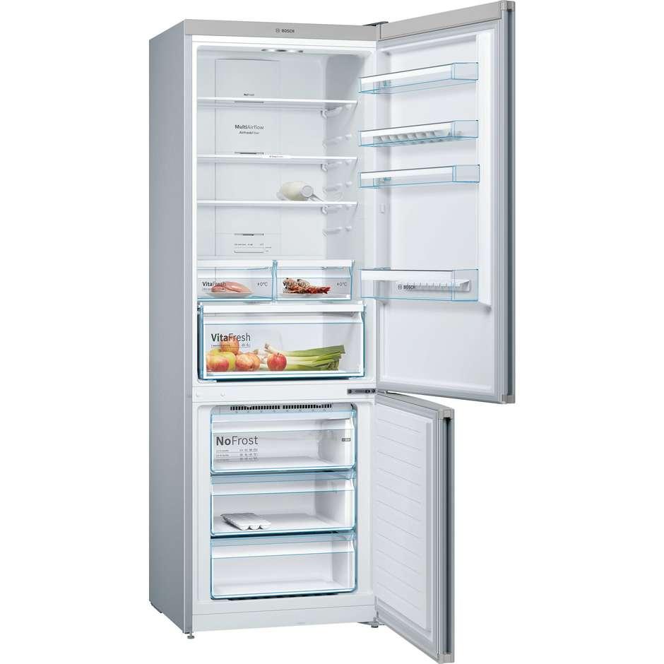 Bosch KGN49XL30 frigorifero combinato 435 litri NoFrost classe A++ inox