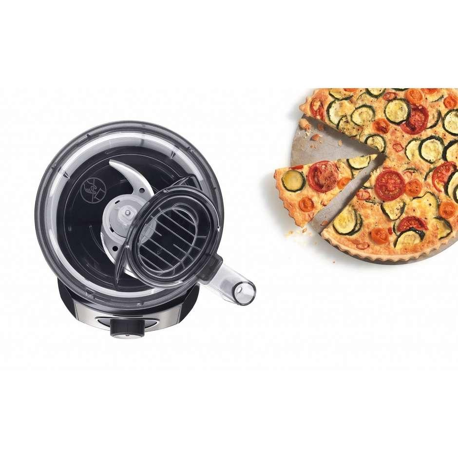 Bosch MCM3501M MultiTalent3 robot da cucina compatto potenza 800 Watt con accessori colore nero e inox