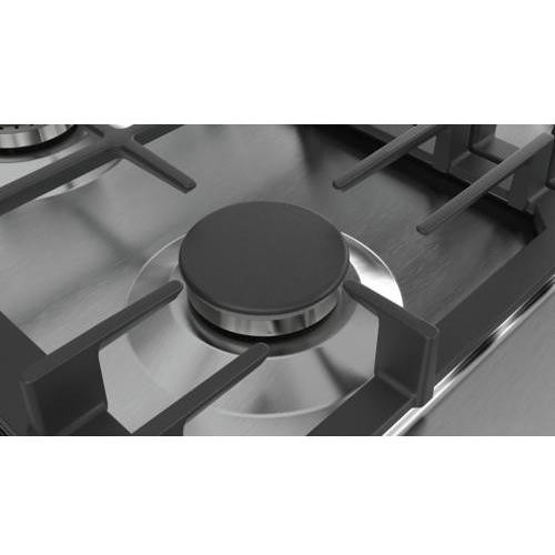 Bosch PCP6A5B90 piano cottura a gas 60 cm 4 fuochi griglie in ghisa ...