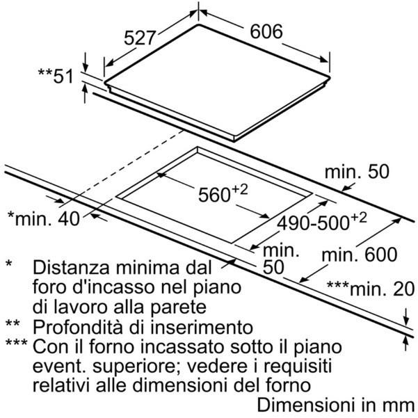 bosch piano cottura pxe675dc 1e