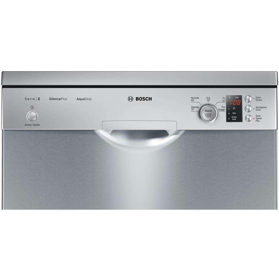 Bosch Silence Plus SMS25AI02J lavastoviglie 12 coperti classe A++ colore inox