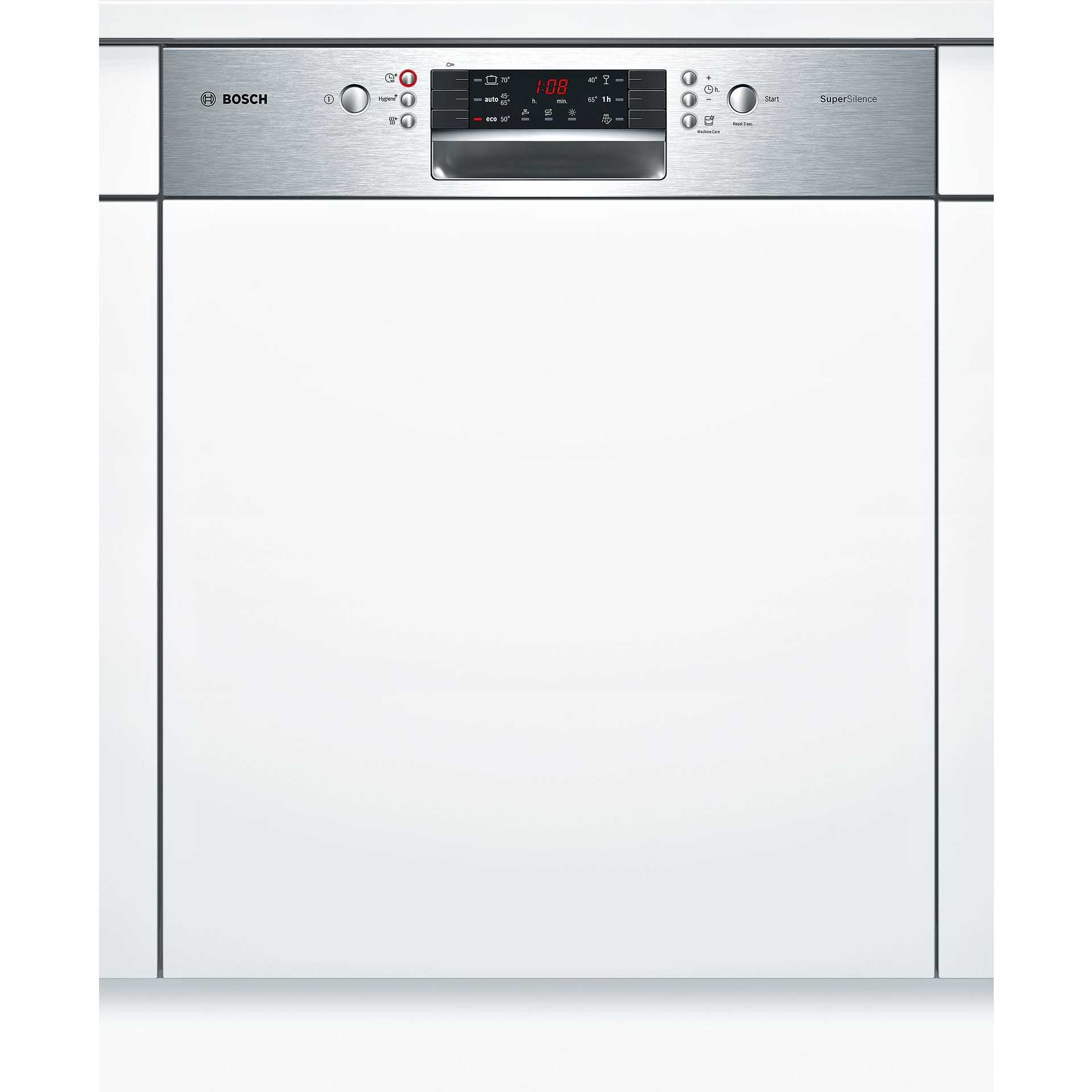 Bosch SMI46MS03E SuperSilence lavastoviglie da incasso integrabile ...