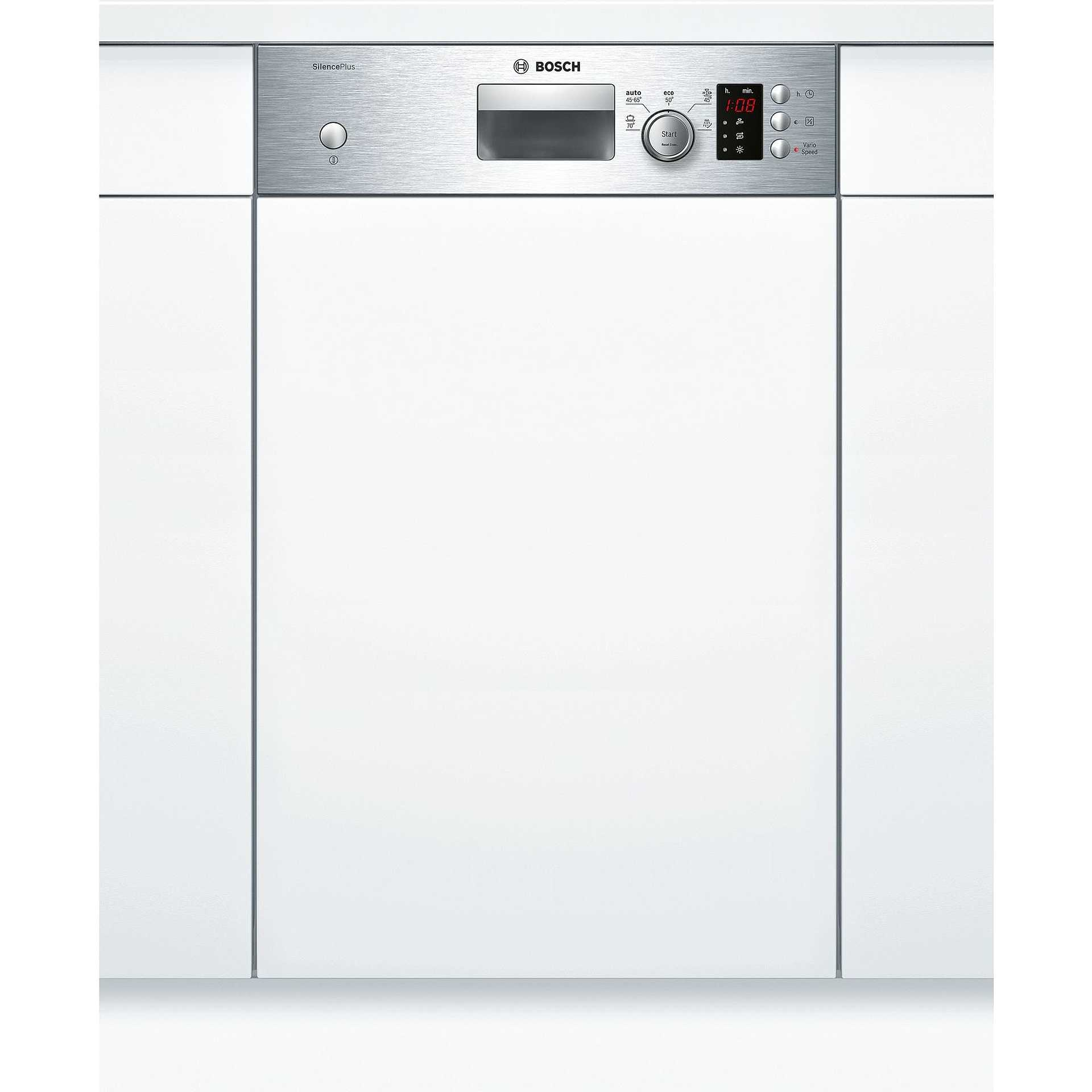 Bosch SPI50E85EU lavastoviglie da semi incasso 45 cm 9 coperti 5 ...