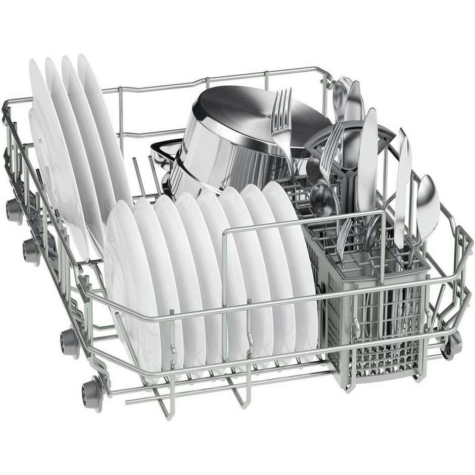 Bosch sps25cw00e lavastoviglie 45 cm 9 coperti 5 programmi for Lavastoviglie 9 coperti
