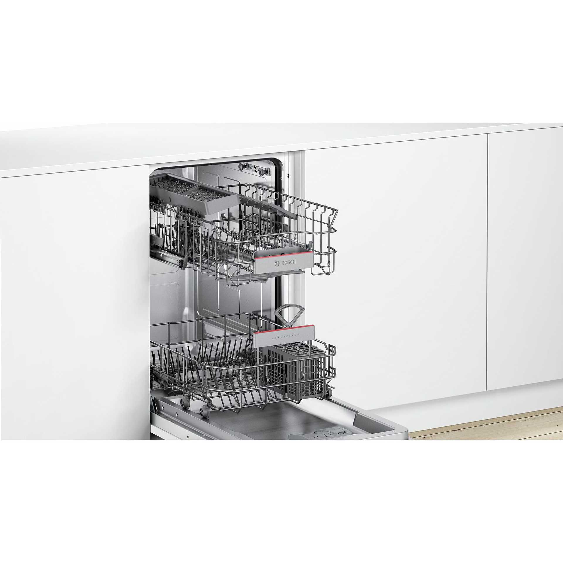 Bosch SPV46IX07E lavastoviglie a scomparsa totale 45 cm 9 ...