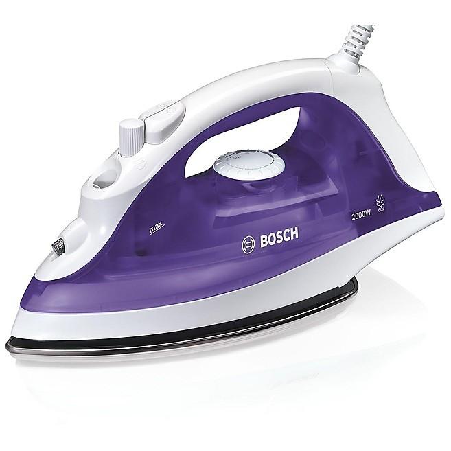 Bosch TDA2320 ferro da stiro a vapore 2000 Watt piastra inox colore viola e bianco