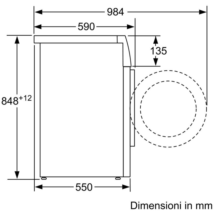 Bosch WAB20261II lavatrice carica frontale 6 Kg 1000 giri classe A+++ colore bianco
