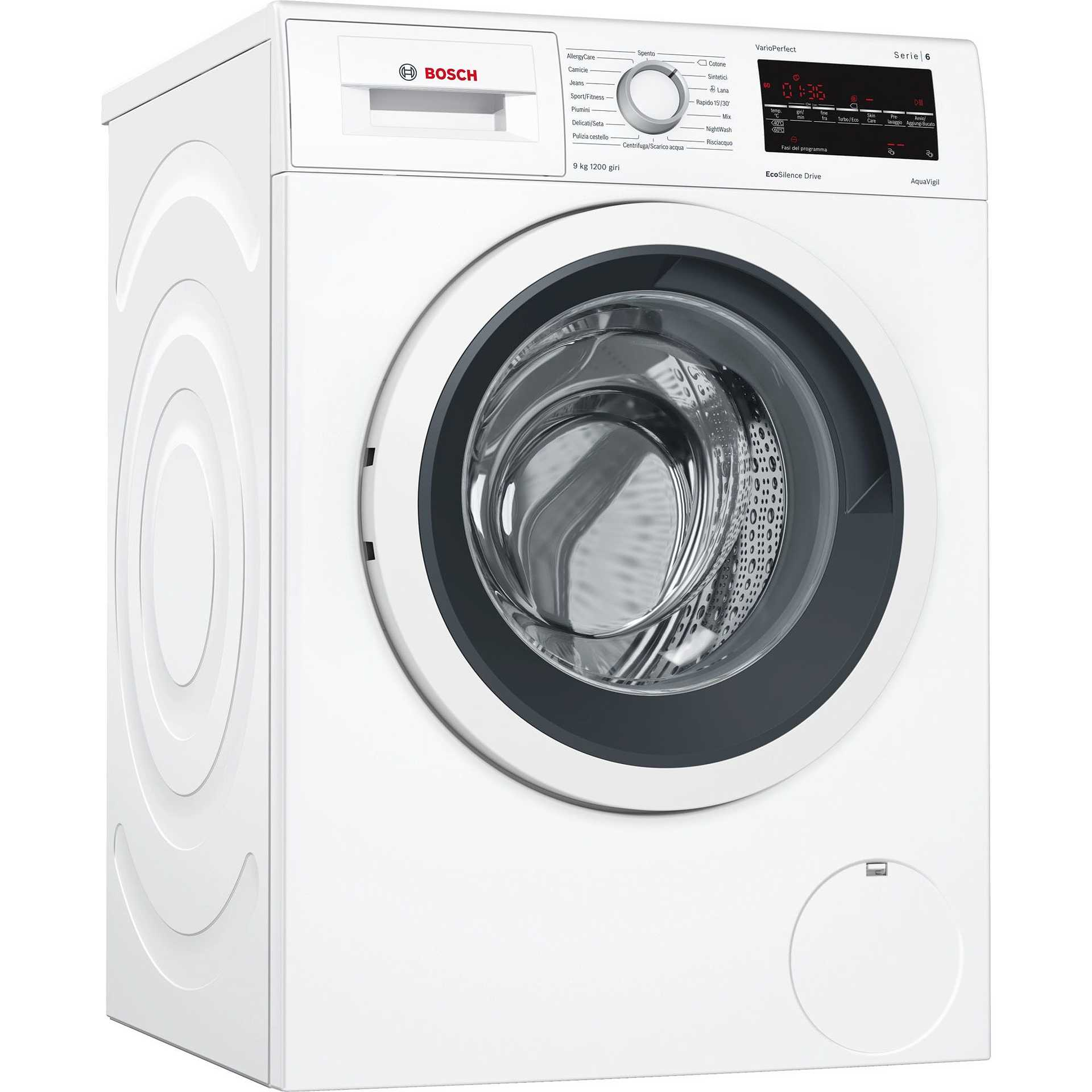 Lavatrici e lavasciuga in offerta online su ClickforShop
