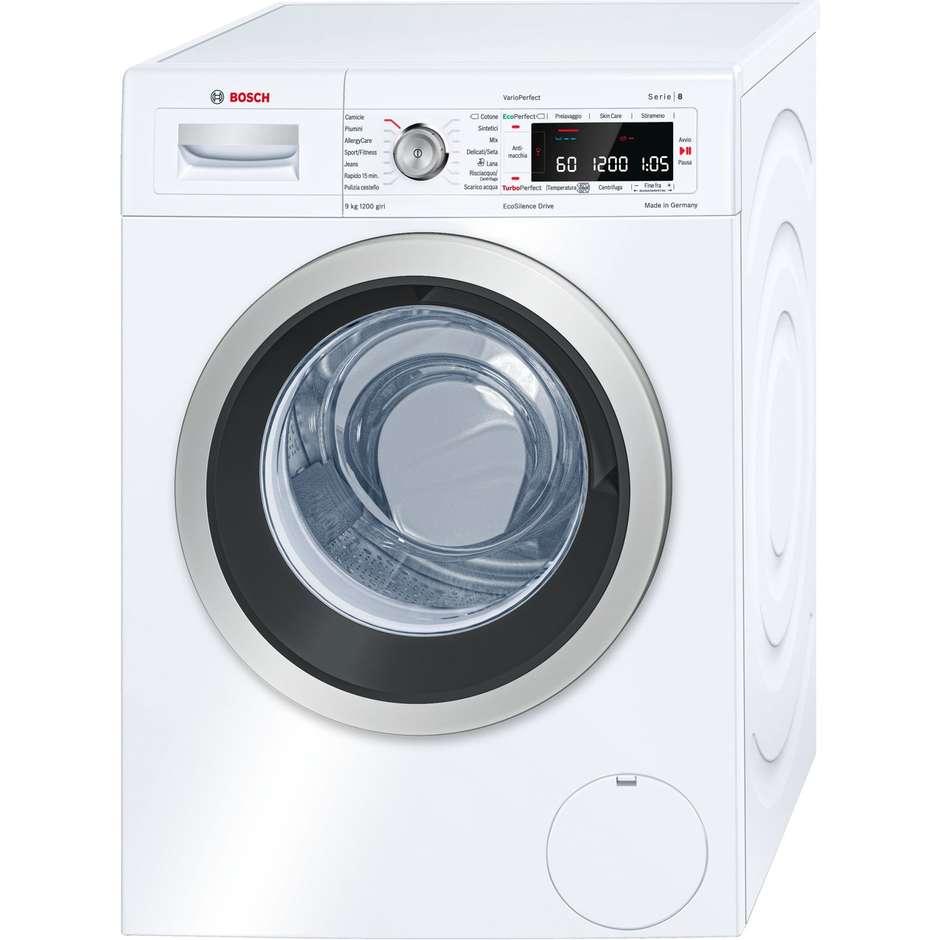 Bosch WAW24549IT lavatrice carica frontale 9 Kg 1200 giri classe A+++-30% colore bianco