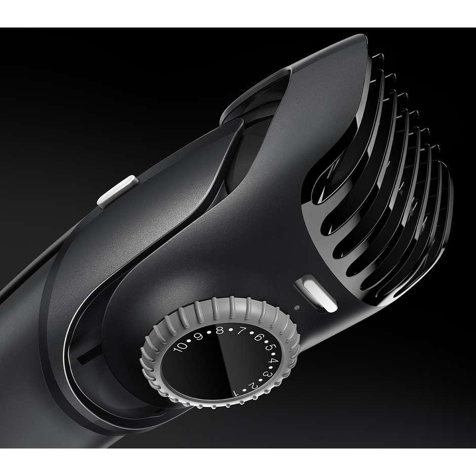 Braun BT5070 BeardTrimmer regolabarba ricaricabile lavabile colore nero