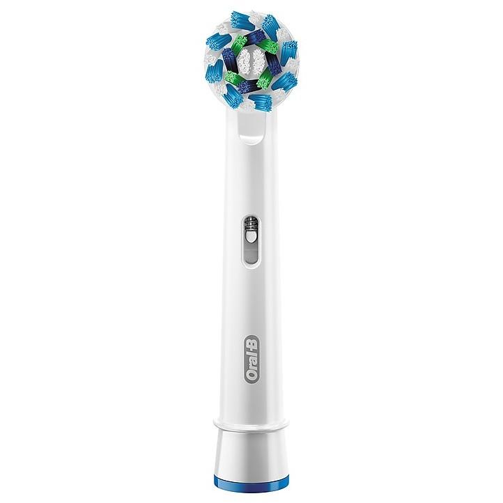 Braun EB-50/3 CrossAction Testina di ricambio per spazzolino elettrico Oral-B 3 pezzi