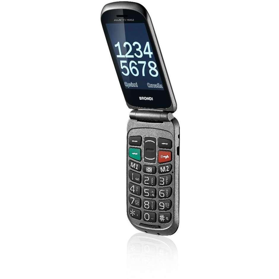 Brondi Amico Fedele telefono cellulare a conchiglia UMTS Dual sim Bluetooth